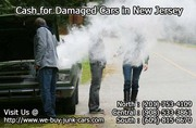 Cash for Damaged Cars Running or Not,  in All Areas of New Jersey!